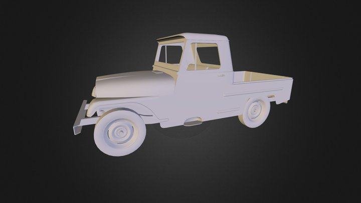 Jeep IKA.obj 3D Model