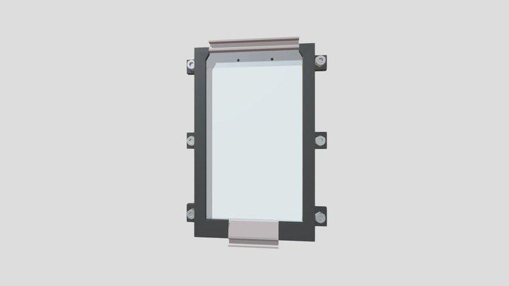 Tablet-Holder for Samsung A8 Tab 3D Model