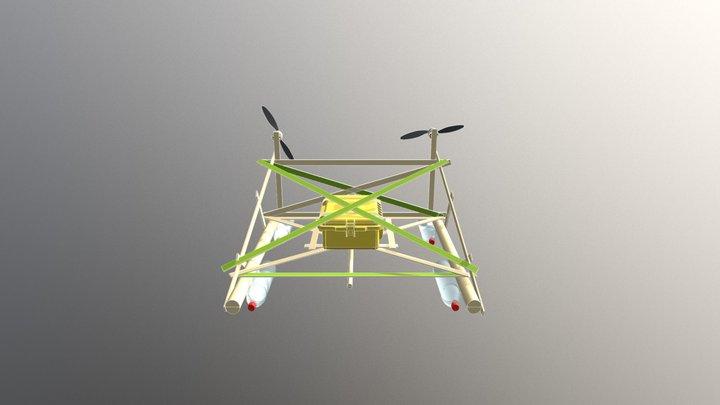 """Mindorobot version """"Bamboo Fans' 3D Model"""
