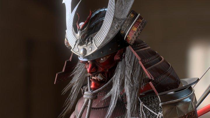 Samurai Warlord - Shogun 3D Model