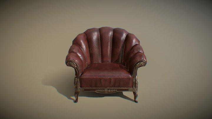Sofa_Single 3D Model