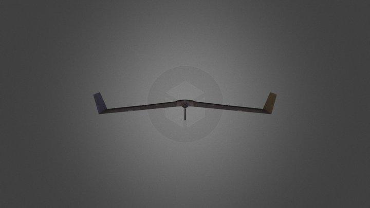 Shipbreakers Enemy Fighter 3D Model