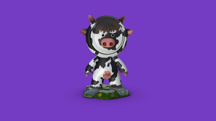 #MeetMAT2 Mooo-MAT (2020 Competiotion) 3D Model