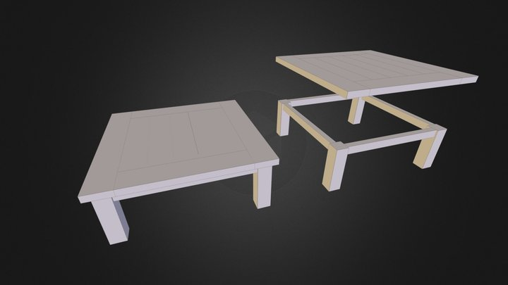 Coffee_table 3D Model