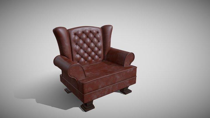 Sofa_01 3D Model