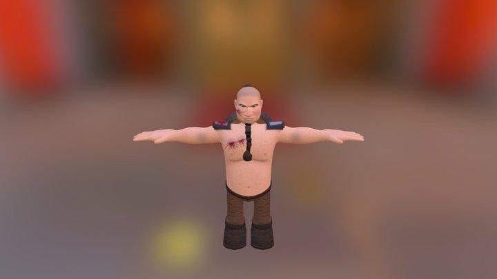 Anão 3D Model