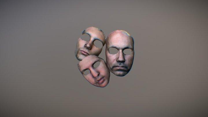 Faces of Scandy 3D Model