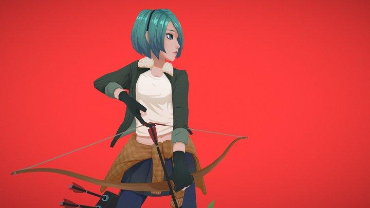 Setsuna 3D Model