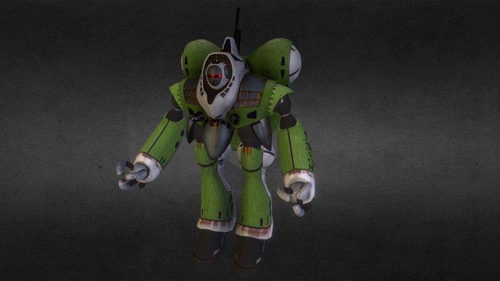 Rau 3D Model