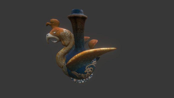 Chicken-spout Ewer 3D Model