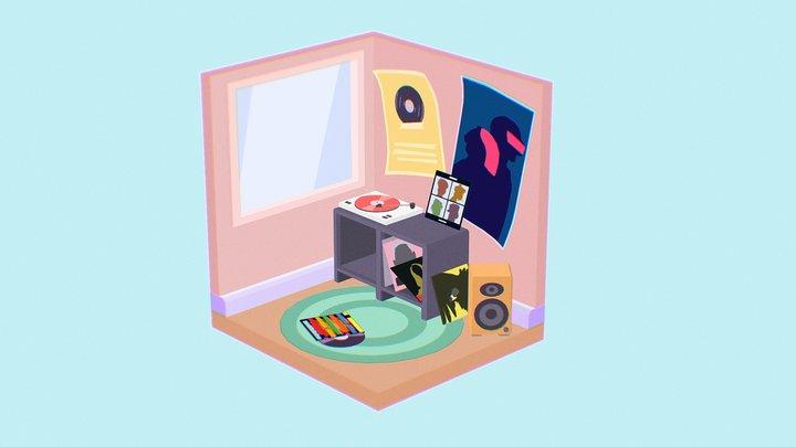 Music Room 3D Model