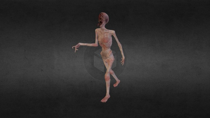 zombie test1 3D Model