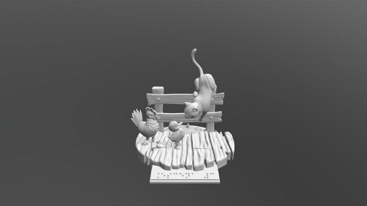 Tercera Escena 3D Model