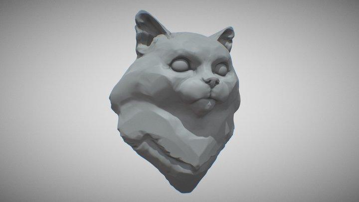 Dolores the Cat 3D Model