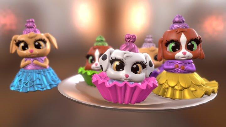 Cake Pets - tvc character 3D Model