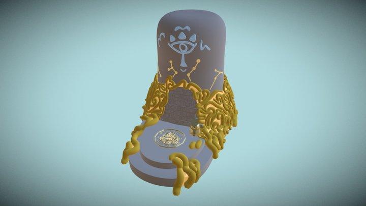 Zelda Shrine WIP (Gravity Sketch) 3D Model