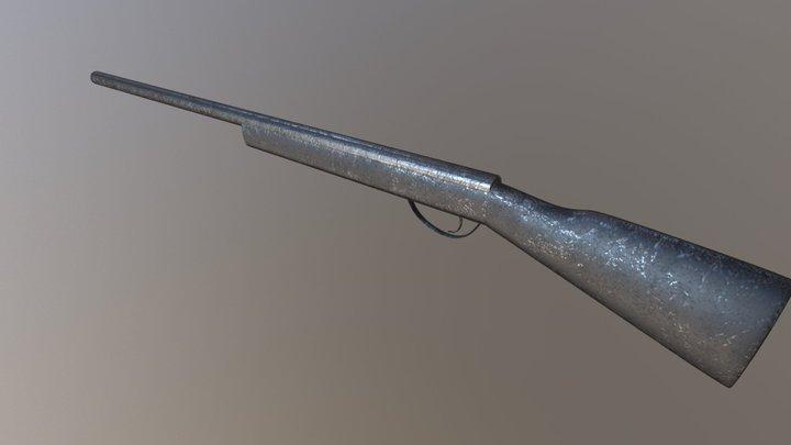 Home made gun 3D Model