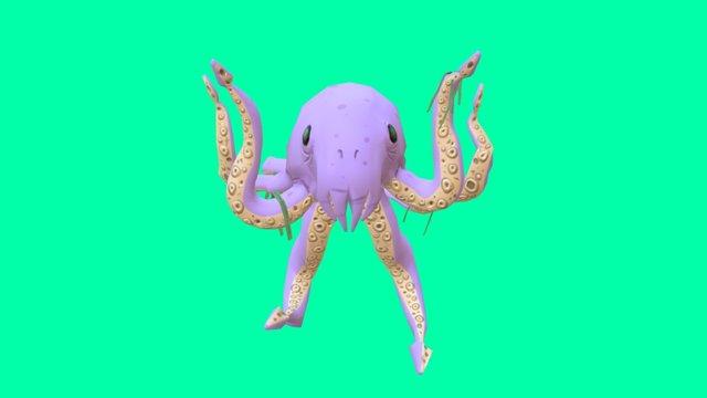 King Kraken - Keel-Haul! 3D Model