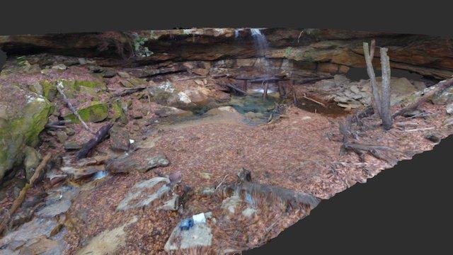 Bear Creek Falls 3D Model