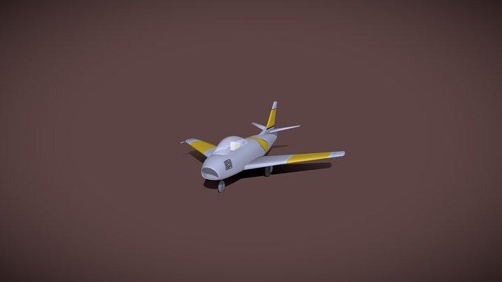 F86 Sabre 3D Model