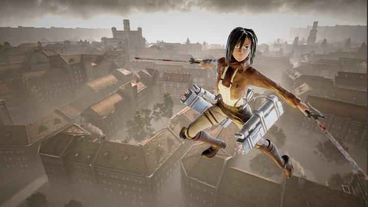 Mikasa Ackerman - Attack on Titan 3D Model