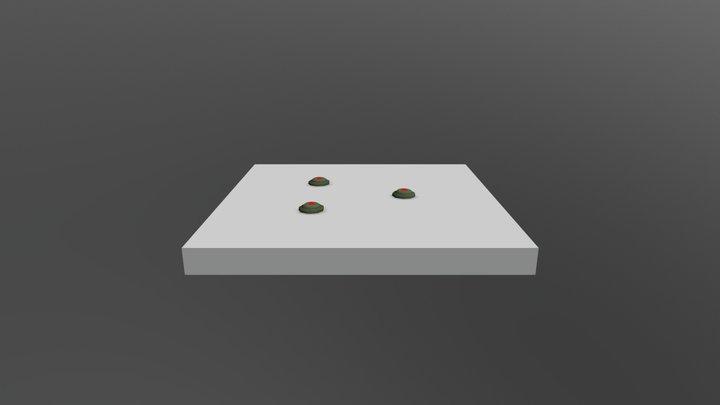 3 Mine 3D Model