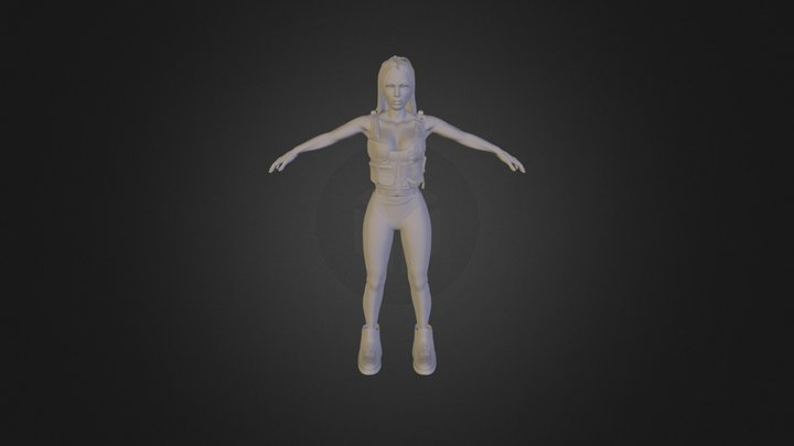 Merged Skin Z Sphere1 1 3D Model