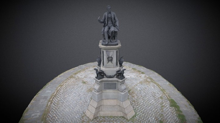 THE PHILADELPHIA LINCOLN MONUMENT 3D Model