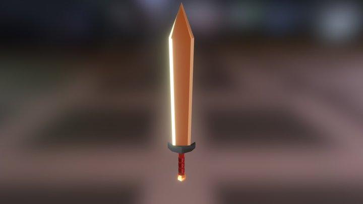 Espada Practica 01 Blender 3D Model