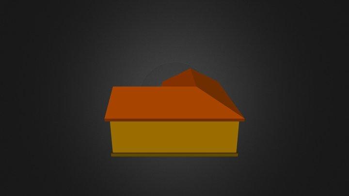 House&car 3D Model
