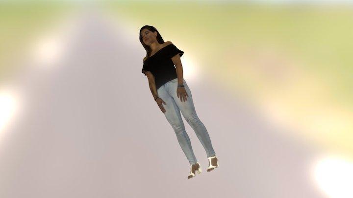Megan 3D Model
