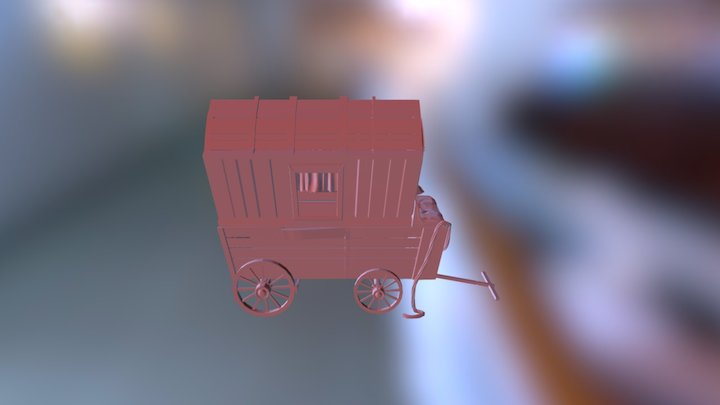 Wagon Finished02 3D Model