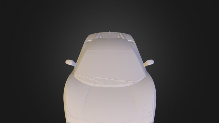 Lamborghini Gallardo LP 560-4 3D Model