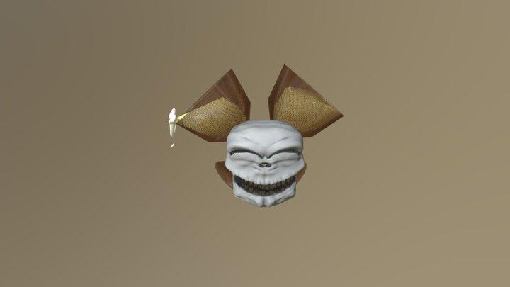 day2 sculptjan19 mood delight Skull 3D Model