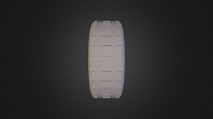 גלגל נוי חדד 3D Model