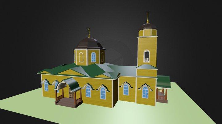 Церковь во имя Успения Пресвятой Богородицы  3D Model