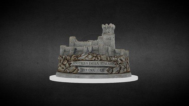 Castillo Villena 3D Model