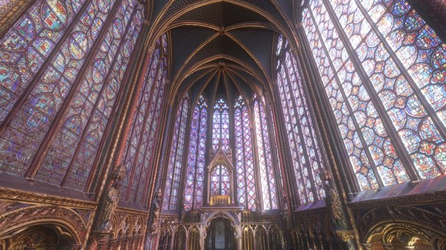 Sainte-Chapelle Interior 3D Model