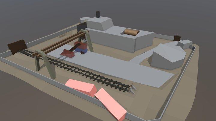 Zavod 3D Model