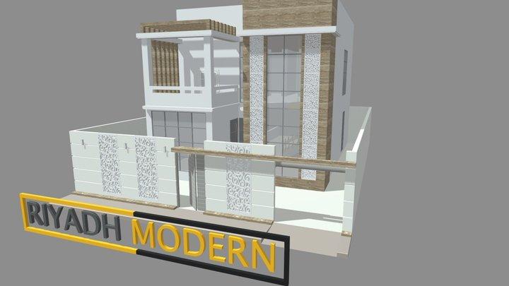 Modern Home 1 3D Model