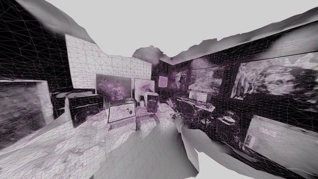 Artist's Studio 3D Model