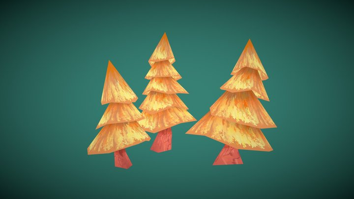 Summer Cottage TREE Cgshare 3D Model