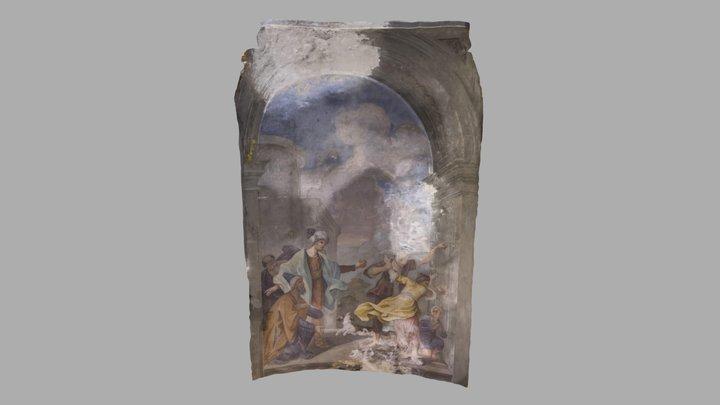Chiesa di S. Andrea Apostolo (Abside Inf. Sin.) 3D Model