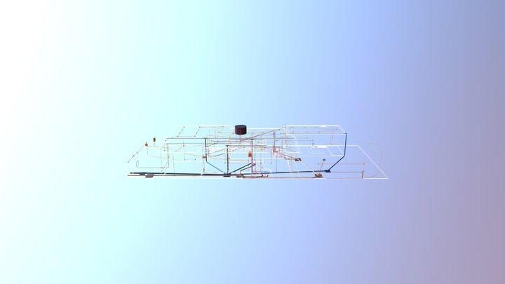Instalações Reginaldo/Josuelir 3D Model