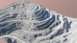 Quarry slope 3D Model