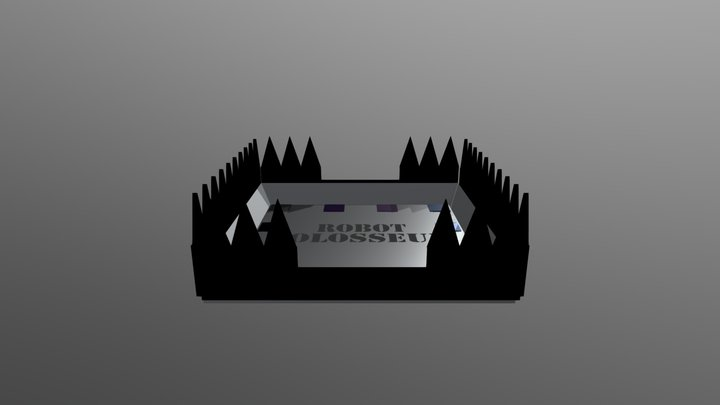 Robot Colosseum 3D Model
