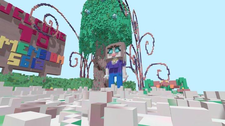 FANTAZMALAND Piece1: Optimization 1st Attempt 3D Model