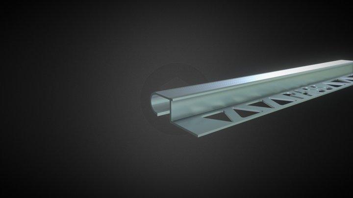 Nez de Marche Arrondi 3D Model
