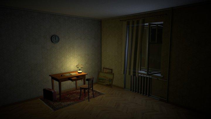 Old Room 3D Model