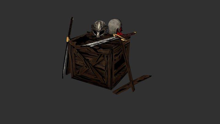 Props #2 - Darkest Dungeon Style 3D Model